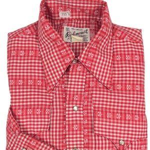 Vintage Rockmount Ranch Wear Pearl Snap Shirt Sz M